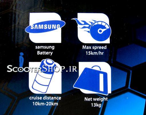 افزودن به علاقه مندی ها اسکوتر برقی هوشمند XCESS X-HAWK D2 – ۶٫۵ L2