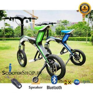 دوچرخه برقی تاشو Robestep bicycle